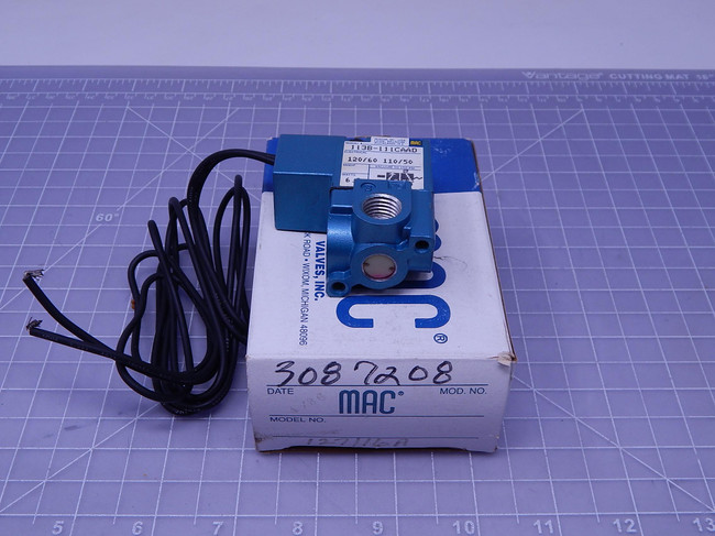 MAC 113B-111CAAD    Solenoid Valve For Sale