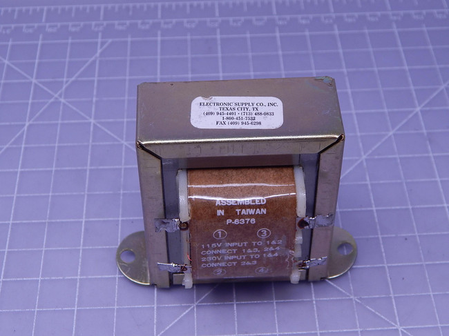 Electronic Supply P-6376    Transformer For Sale