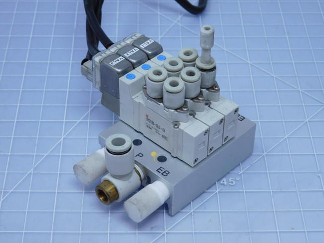 Lot of 3 SMC SY3120-5LU-C4    Solenoid-Operated Air Control Valves For Sale
