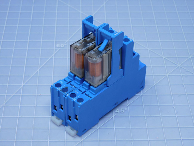 Lot of 2 Schrack RP818730    General Purpose Relay For Sale