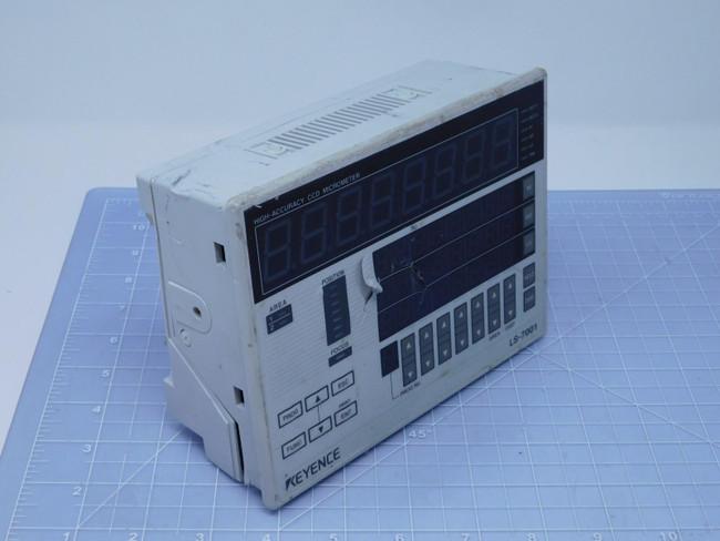 Keyence LS-7001    High-accuracy Digital Micrometer Controller For Sale