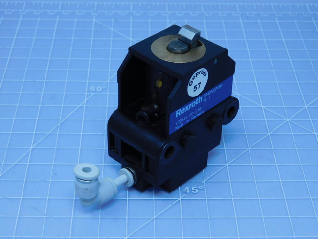 Rexroth 3842522400 3 842 522 408/400   Pneumatic Stop Gate For Sale