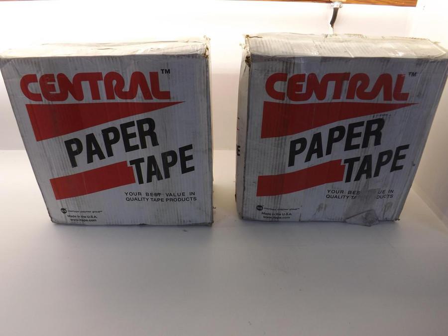 """Lot of 20 Morrisette K2800 Grade 160 3""""X600FT Natural Color Paper Tapes T38737"""