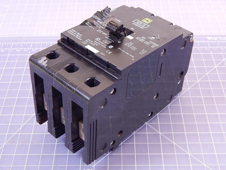 Square D EJB34125 Circuit Breaker 125 A T99445 For Sale