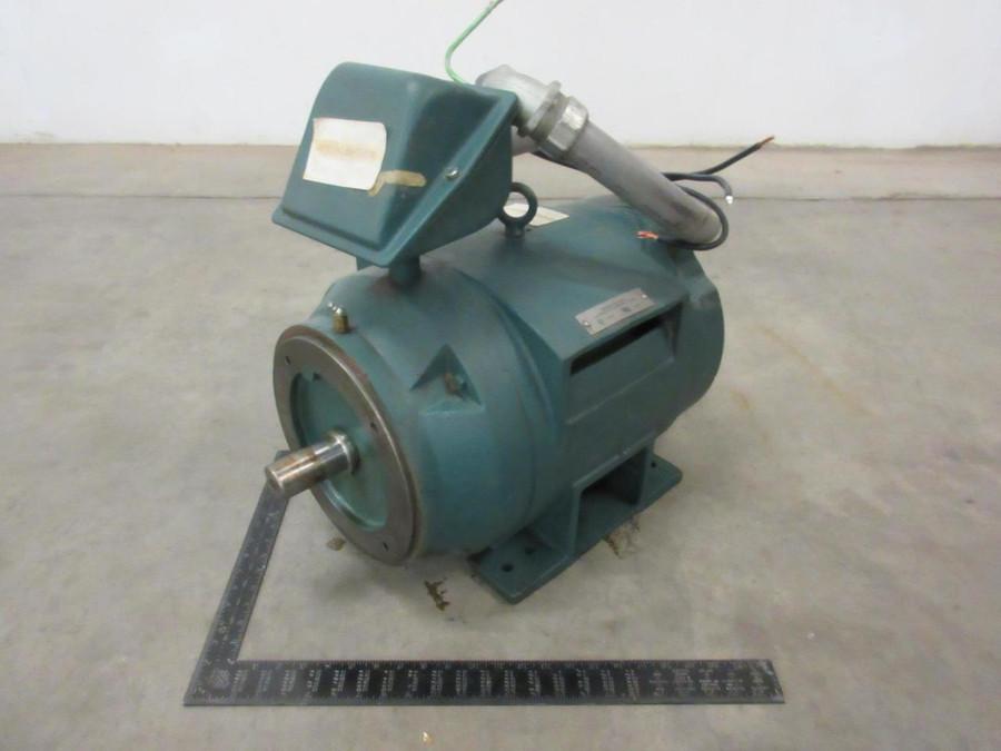 Van Dorn Demag 37MN287061, P28G7061B Motor, 230/460 V, 3 Phase, 15 HP, 1180 RPM, 286TSC Frame T100027 For Sale