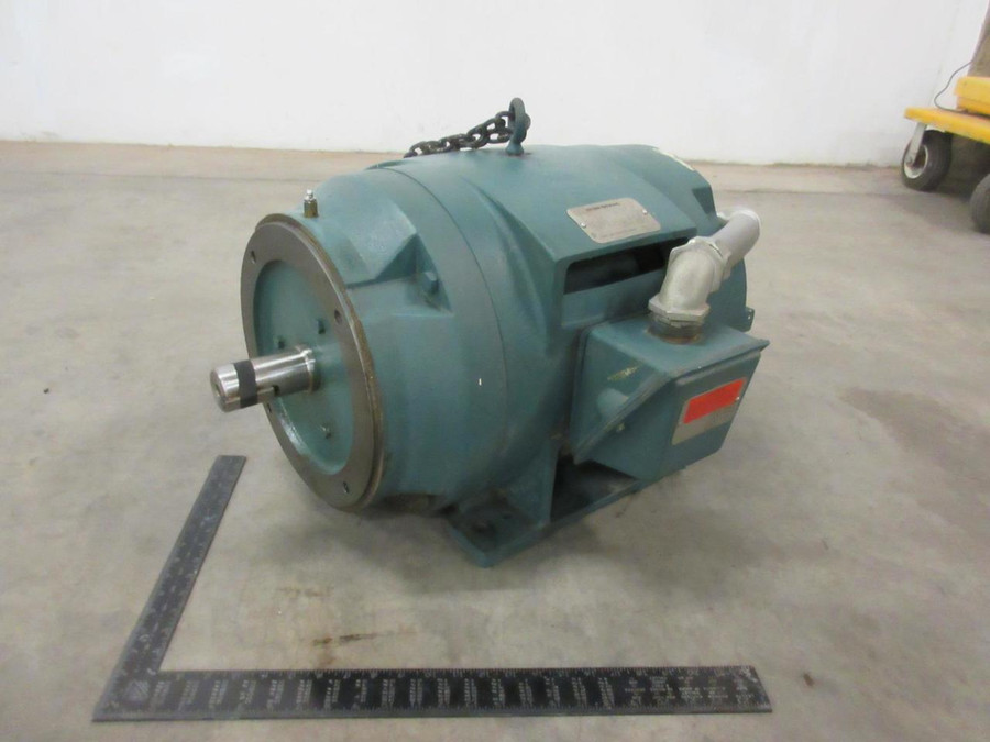Van Dorn Demag 14MN327062 P32G7062A02 Motor, 230/460 V, 3 Phase, 25 HP, 1180 RPM, 324TSC Frame T100028 For Sale