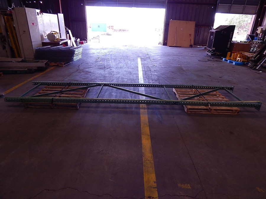 Industrial Pallet Rack Upright 20 Ft x 42 In T102200 For Sale
