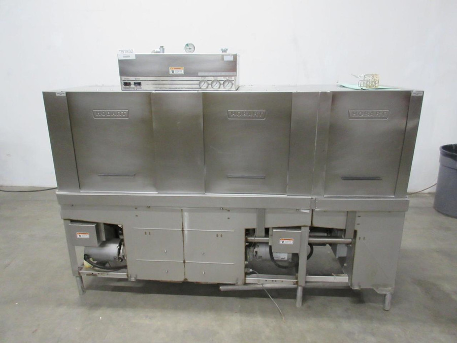 Hobart CRS86A Heavy Duty Commercial Conveyor Dishwasher T105550 For Sale