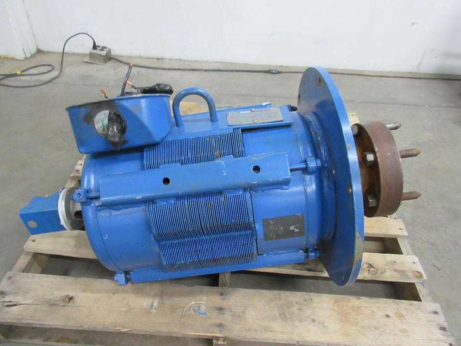 Dover Elevators / Lincoln Electric 590BM2, SM1747A1CN Elevator Duty AC Motor 40 HP 460 V 1160 RPM 3 PH 57 A 326TSC FR T106516 For Sale