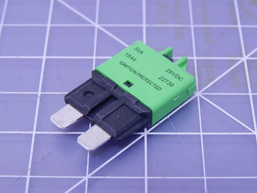 Lot of 230 Bussmann 22730-00 Low Profile ATC Circuit Breaker T108616 For Sale