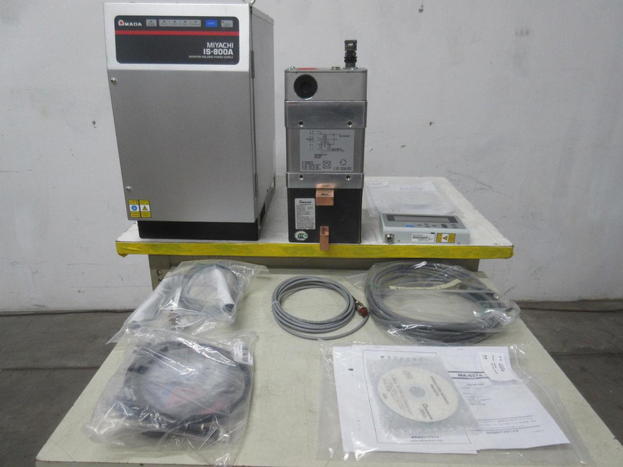 Amada Miyachi IS-800A DC Inverter Spot Welding / Fusing System T110442 For Sale