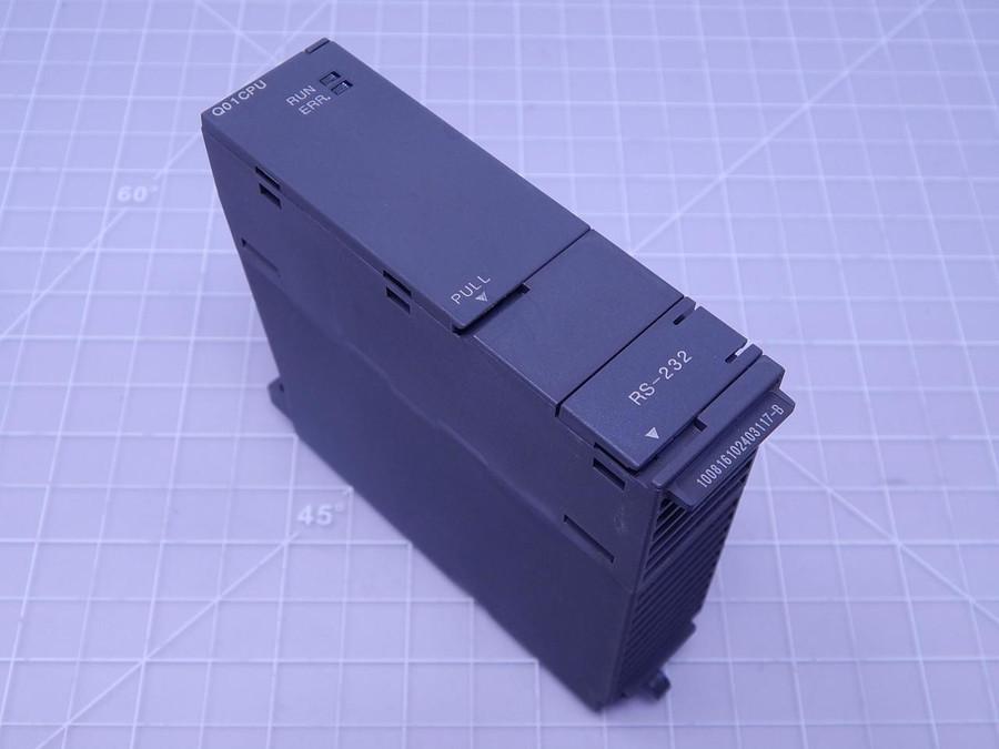Mitsubishi Q01CPU CPU Unit T112789 For Sale