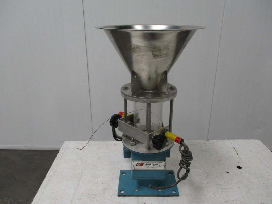 Bunting Magnetic Hopper Plastic Processing w/ Magnet T119114 For Sale