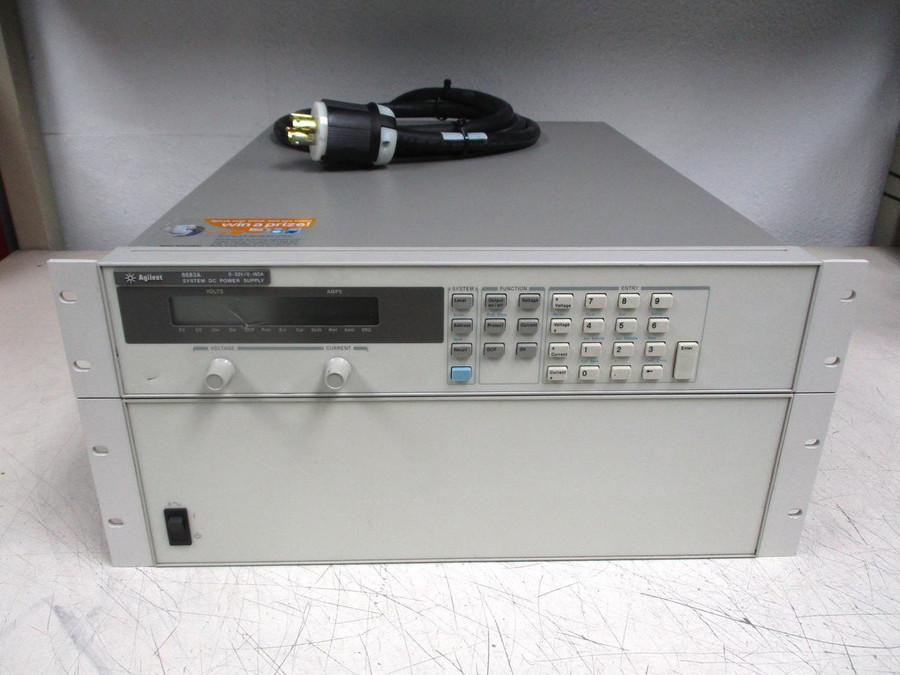 Agilent 6683A System DC Power Supply T119125 For Sale