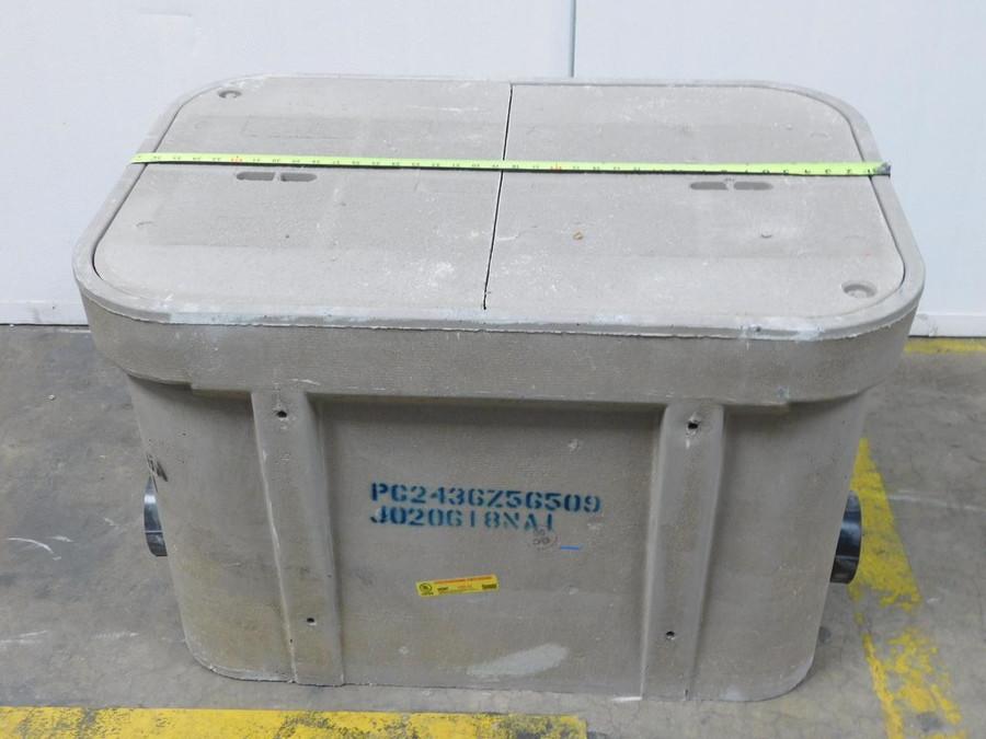 "Quazite 66WF Polymer Concrete Tier 22 Underground Electrical Enclosure 37""x 26 X 24"" PG2436B568A J020218MM1 T124169 For Sale"