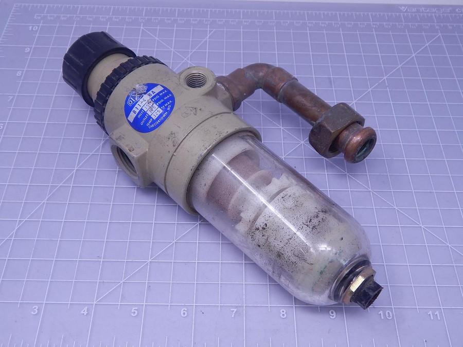 Dixon B11-4 8A Pneumatic Filter T128125 For Sale