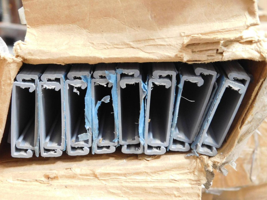 Lot of 16 Thomas & Betts TY15CPG6 Ty-Duct Wiring Duct Covers T128326 For Sale