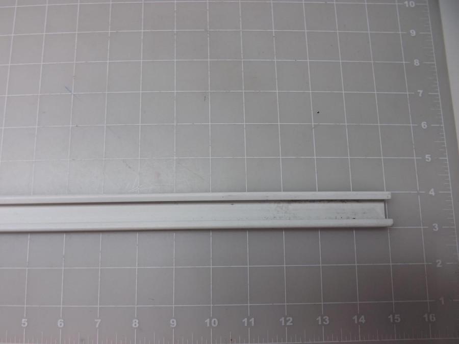 Lot of 25 Lightolier 943087 XP-3607 White 144.25'' V Prospect Track Liner 277
