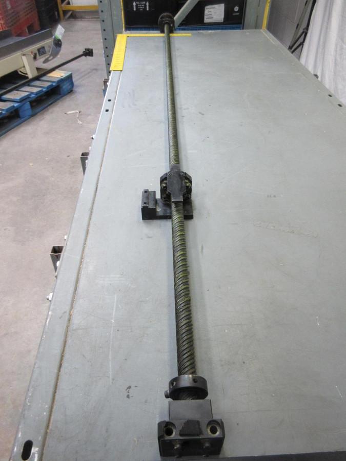 "NSK 2550 Ballscrew Bearing w/ 82"" Rail T65855"