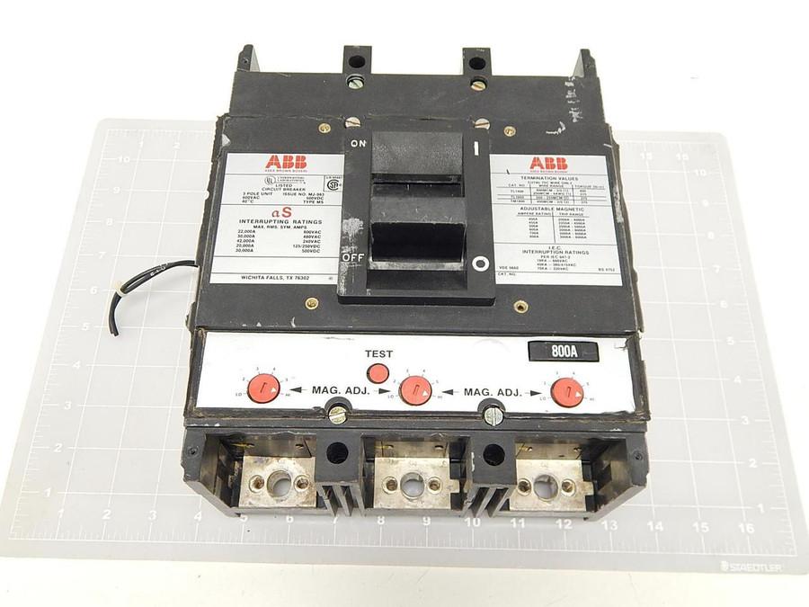 ABB Asea Brown Boveri MJ-938 800 Amp Circuit Breaker T69579