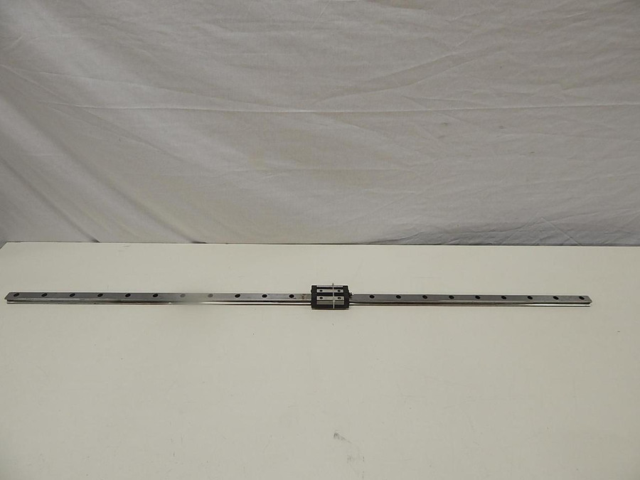 "THK GSR25T Linear Bearing w/ 51"" CNC Linear Slide Rail"