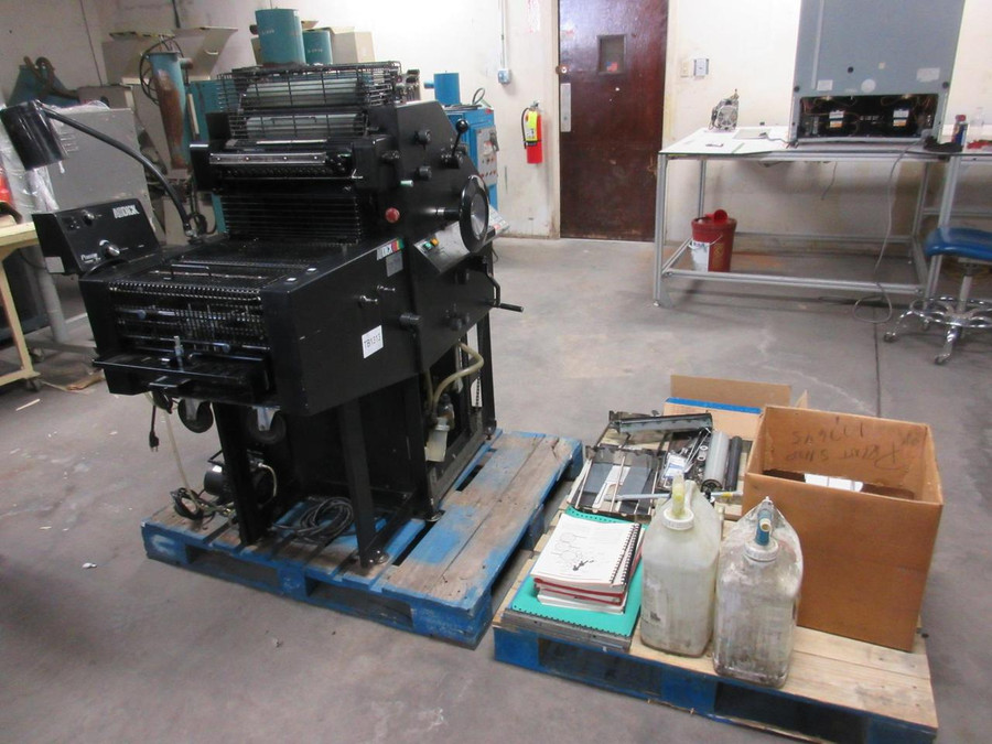 AB Dick 9870 Offset Printing Press
