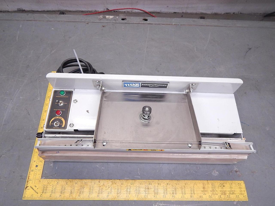 Audion Automation 902132 Titan Packaging Machine T80796