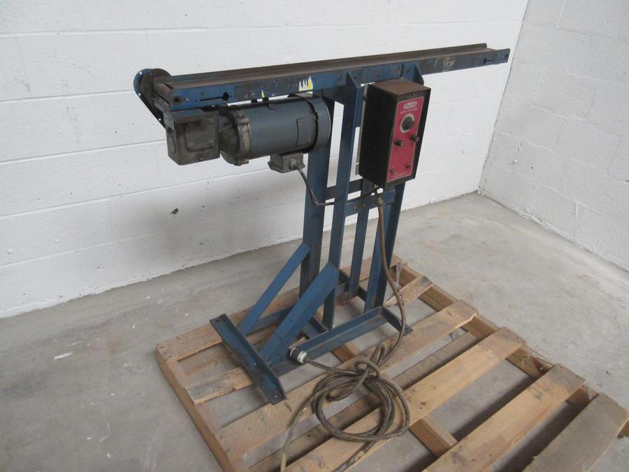46'' x 4'' Conveyor W Speed Control T81494