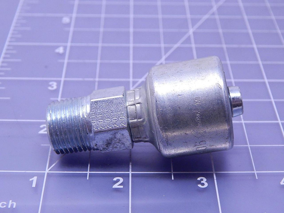 G25100-0606 Hydraulic Hose Fitting T103858 Gates 6G-6MP
