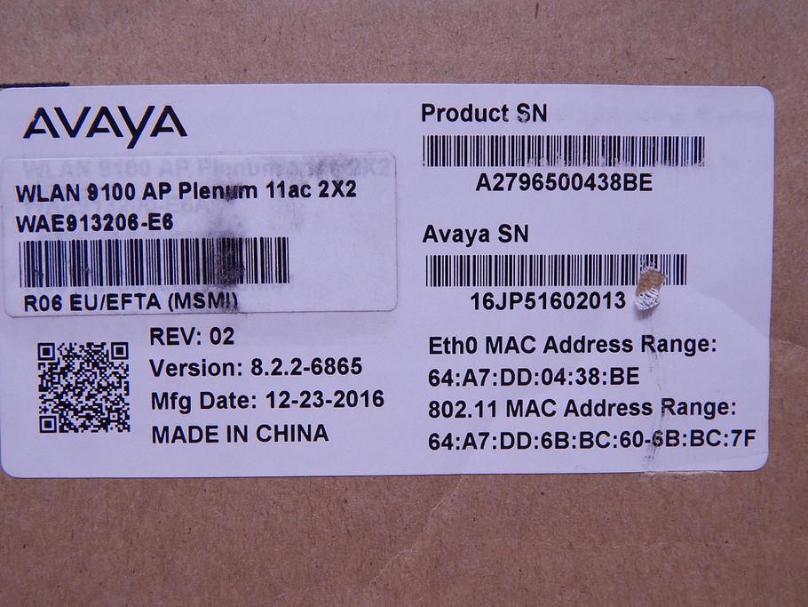 Symbol AP-0622 AP-6522-66040-US Access Point T141173