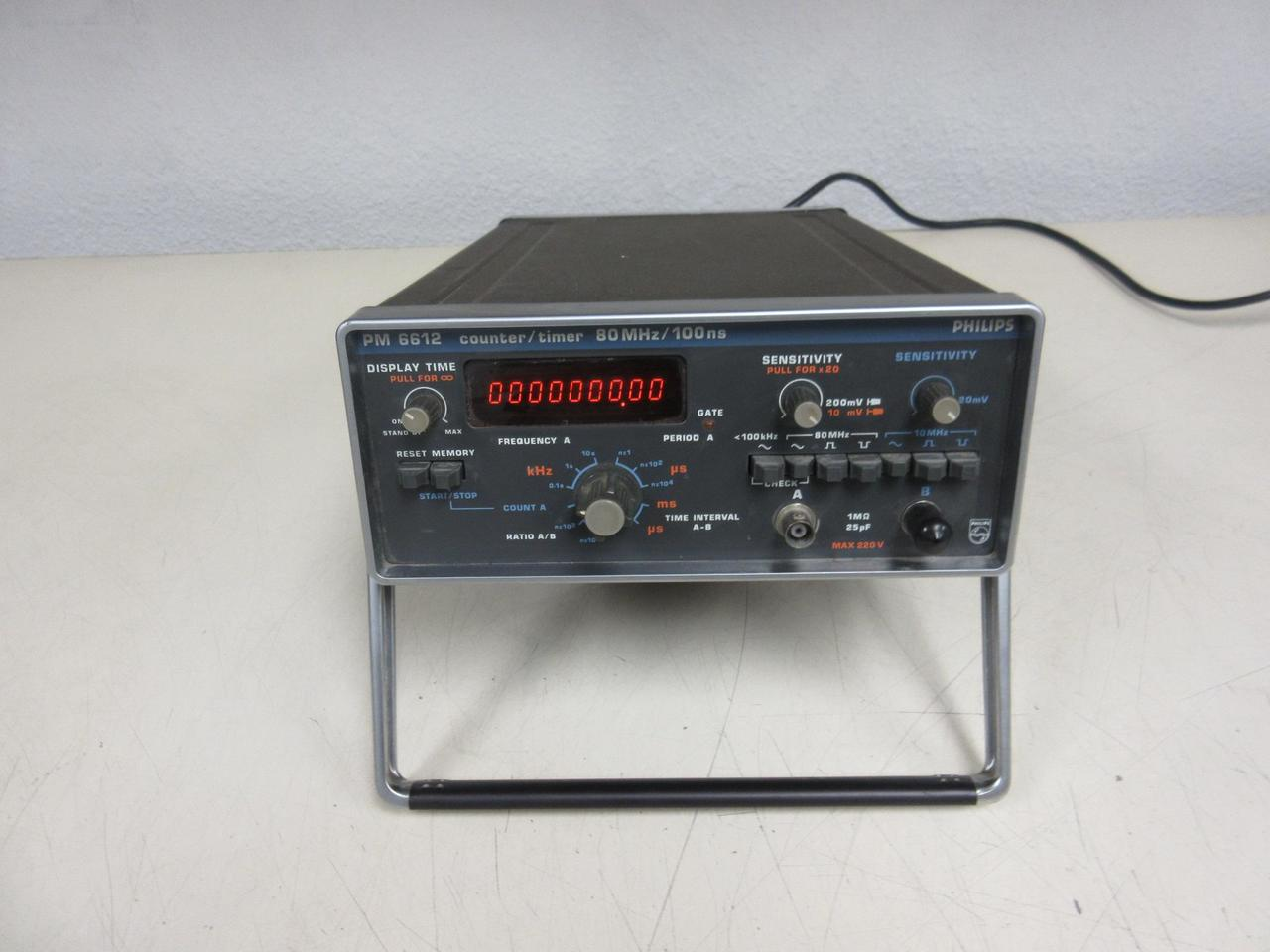 Philips Pm6612 Counter Timer T101438 Test Equipment And Machinery Frequency For Sale