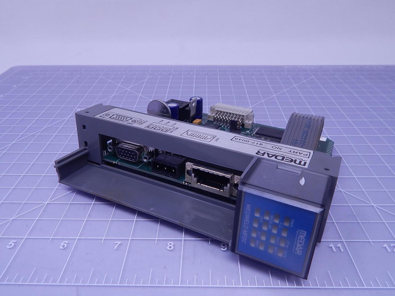 Medar 917 0049 Weld Control Module Processor Card T120798 For Sale