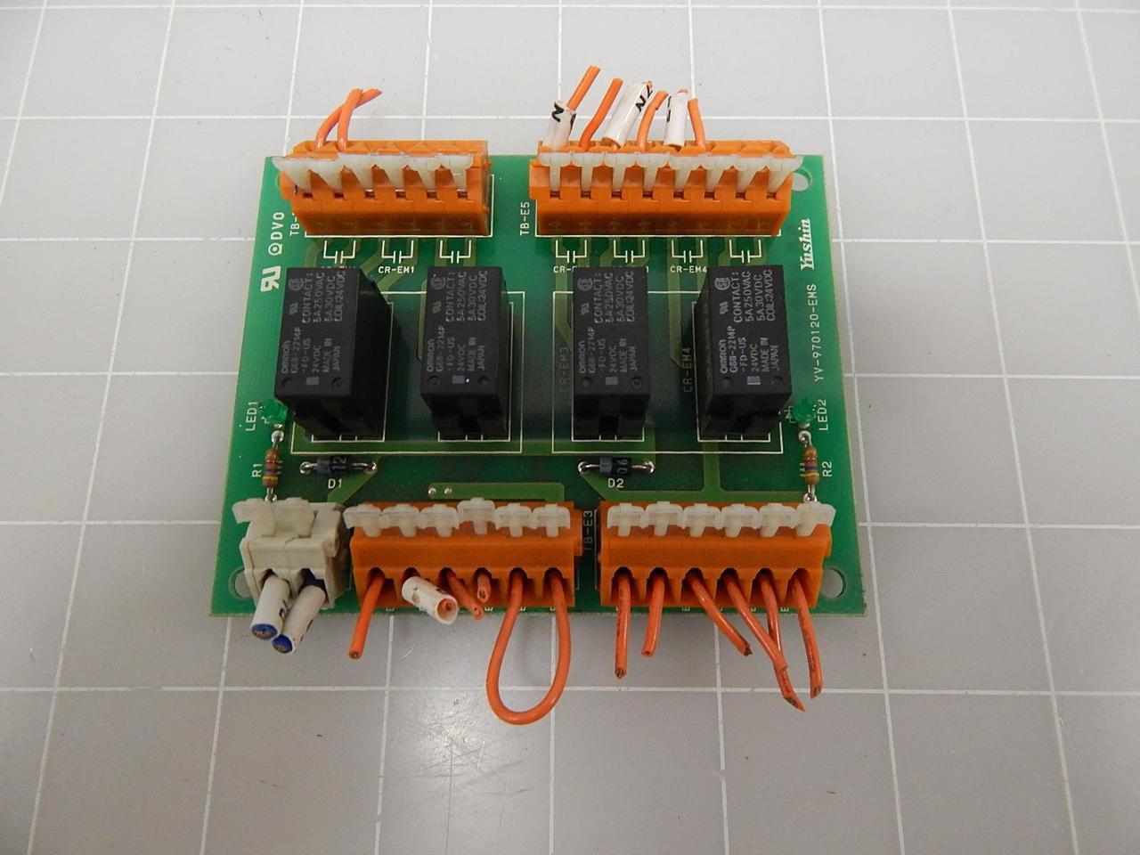 Yushin YV-970120-EMS Circuit Board T68217