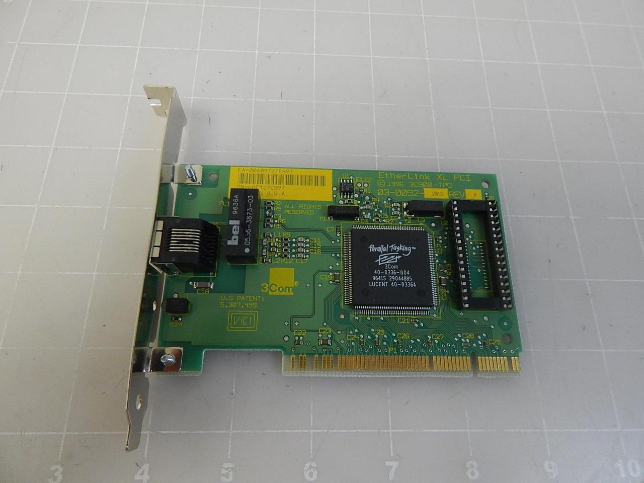 3C900 ETHERLINK XL PCI DRIVER
