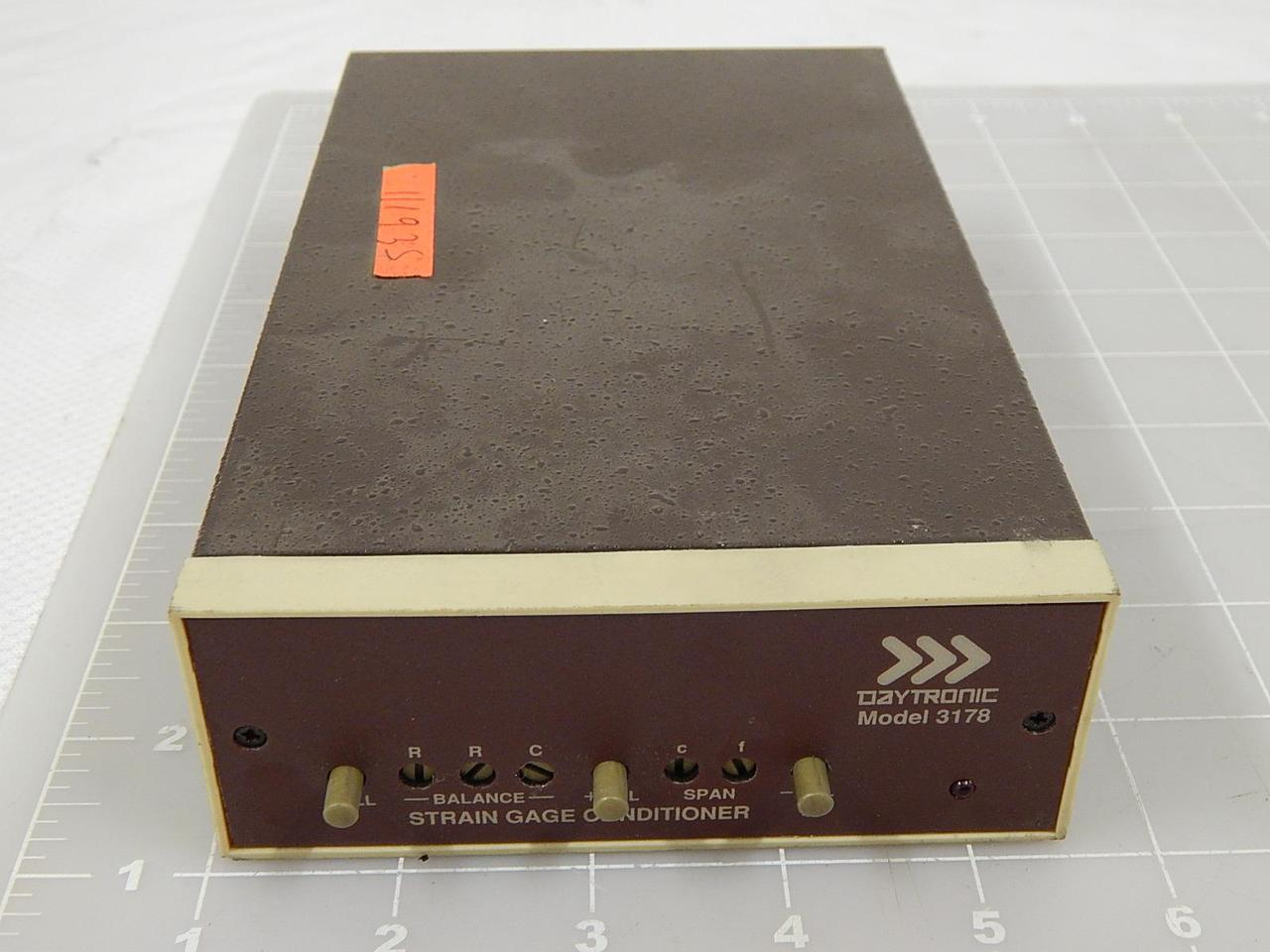 Details about  /DAYTRONIC MODEL 3178 STRAIN GAGE CONDITIONER