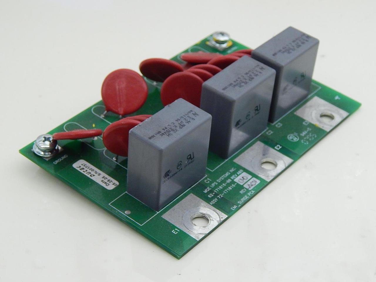 MGE UPS Systems 62-171016-00, 72-171016-00 EMI_Surge PCA Board T91291