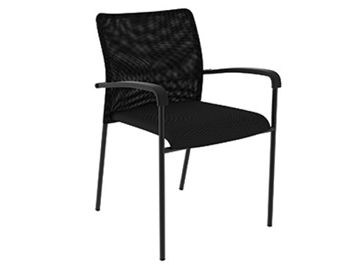 Compel Match Stack Chair - New