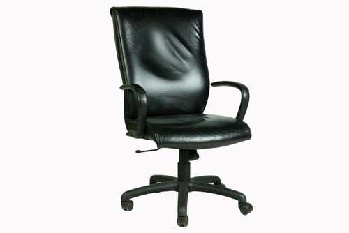 Leather Conference Chair -Used