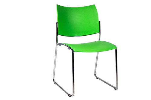 National Green Side Chair - Used