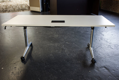 "Coalesse Vecta Kart Table 72"" x 30"" - Used"