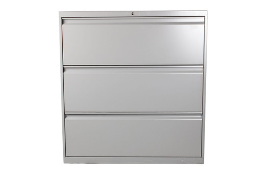 "Allsteel 3 Drawer Lateral File - 36"" - Used"