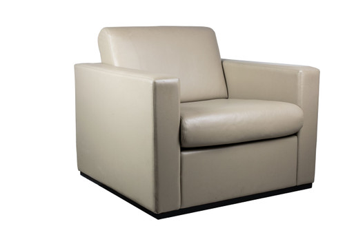 Grey Lounge Chair - Used