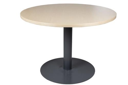 """Haworth 42"""" Maple Round Table - Used"""