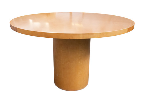"Kimball 48"" Round Maple Table - Preowned"