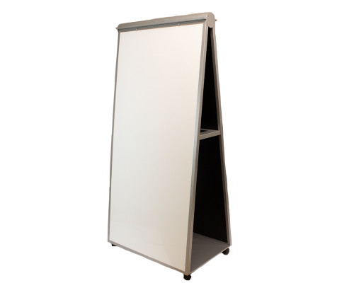Mobile Whiteboard Easel -Used