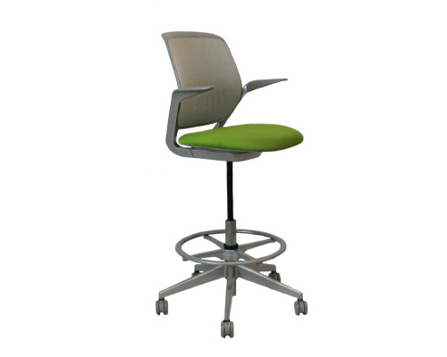 Steelcase Cobi Stool - Green - Used
