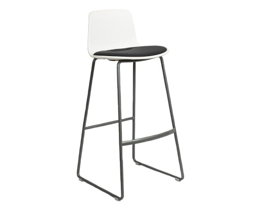 Coalesse Enea Lottus Bar Stool - Grey - Preowned