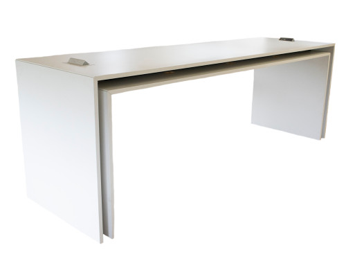 10' Waterfall Table With Power - Preowned