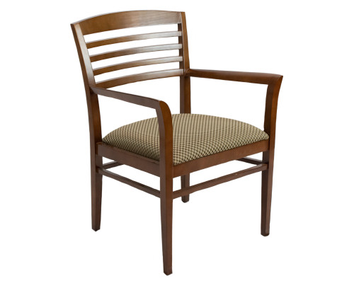 National Admire Horizontal Slat Guest Chair - Used
