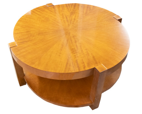 "Wood Coffee Table - 42"" Round"